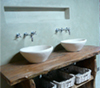 Tadelakt country lifestyle polished with soap