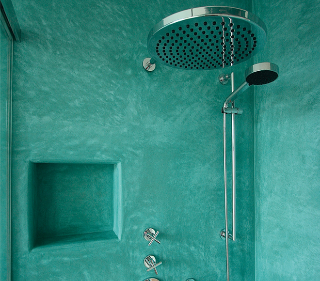 Tadelakt  shower